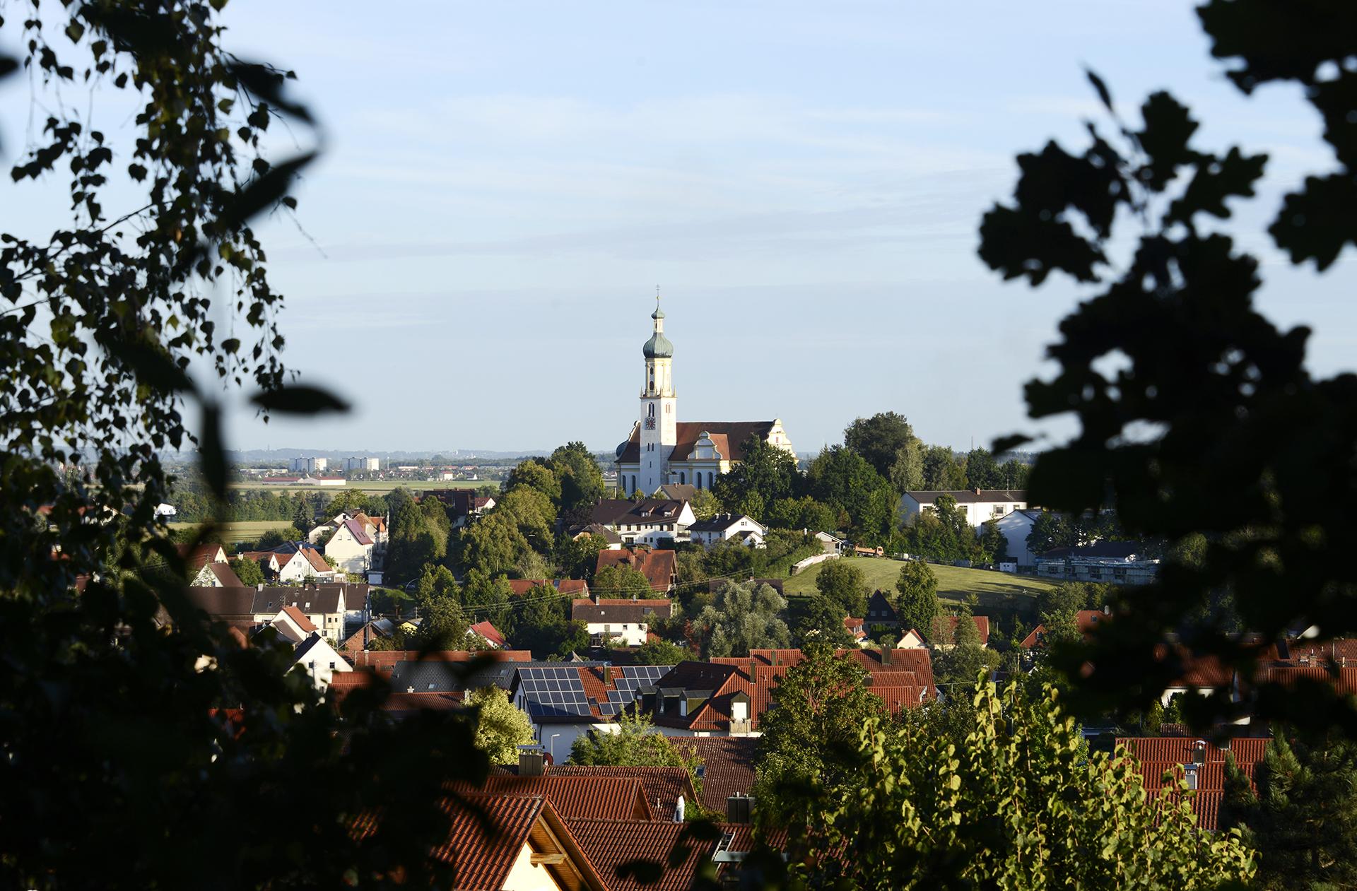 Ortsbild Biberbach