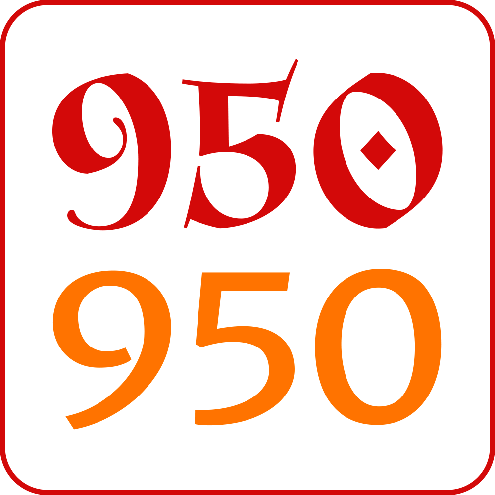 950 Jahre Biberbach Logo