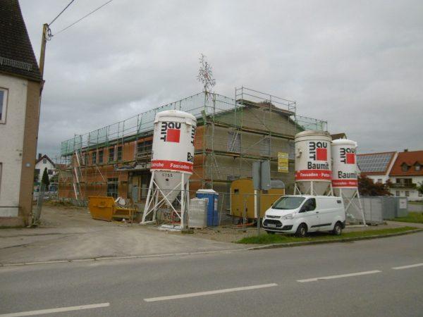 Baustelle des Biberbacher Dorfladens