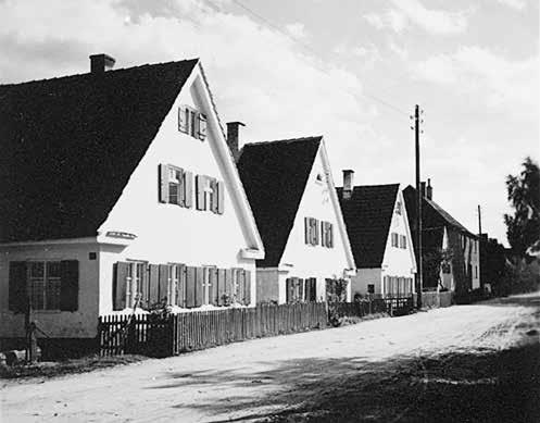 Ansicht Biberbach vor ca. 90 Jahren