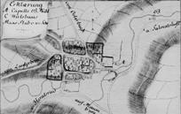 Dorfstrukturen in Biberbach Anfang des Jahrhunderts
